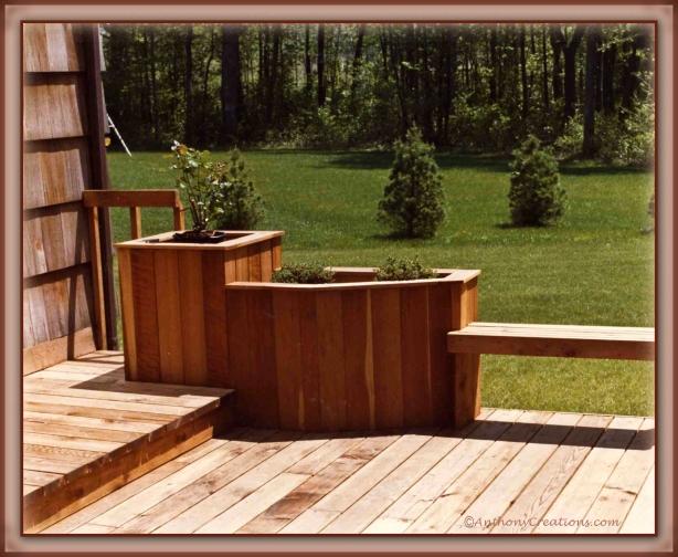simple wooden planter plans